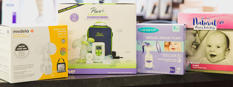 Mommy & Me Corner - Breast Pumps