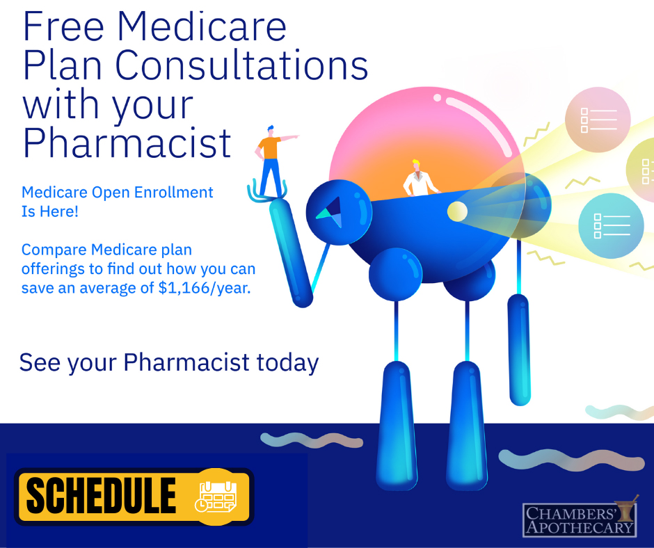 Free Medicare Plan Consultations With Your Pharmacist